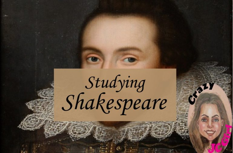 Studying Shakespeare - crazyJCgirl.com