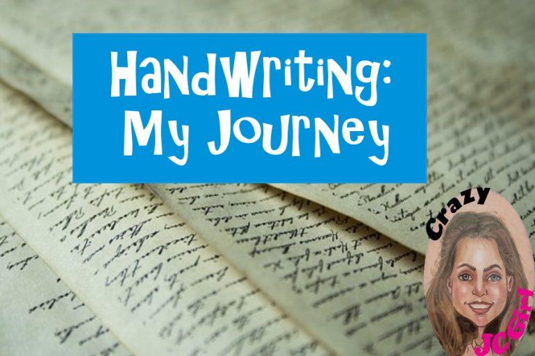 Handwriting: My Journey - crazyJCgirl.com