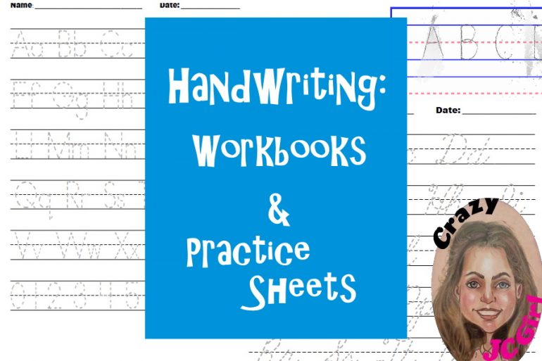 Handwriting: Workbooks & Practice Sheets - crazyJCgirl.com