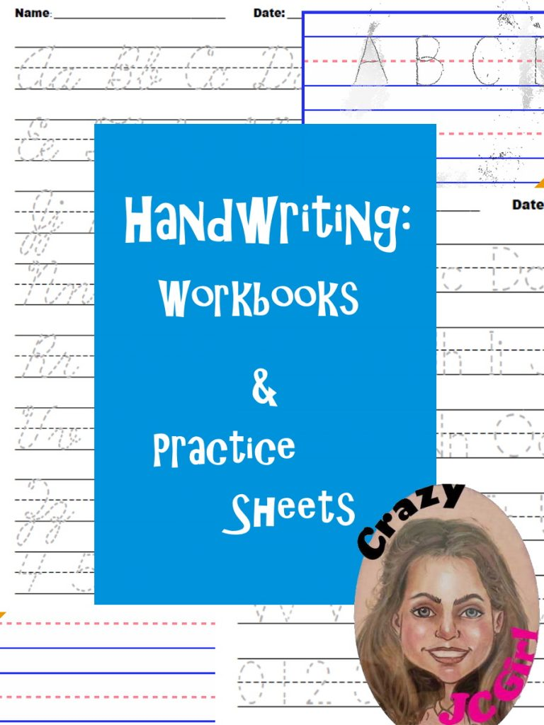 Handwriting - Workbooks - Practice Sheets - Fine Motor Skills - Preschool - Elementary