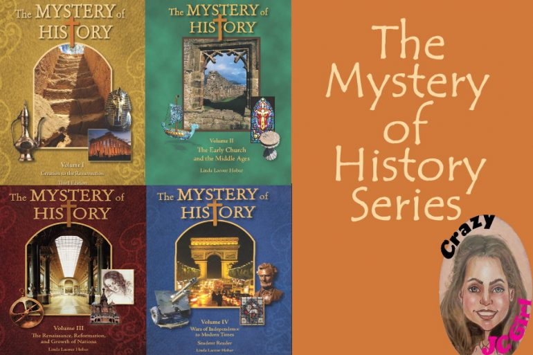 MOH Mystery of History series - crazyJCgirl.com