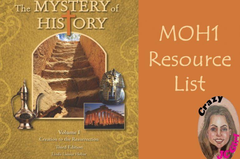 MOH1 Mystery of History I - crazyJCgirl.com
