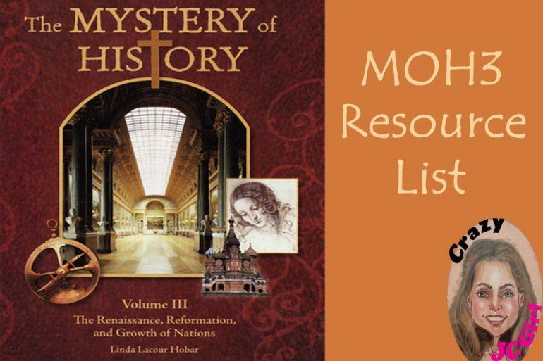 MOH3 Mystery of HistoryIII - crazyJCgirl.com