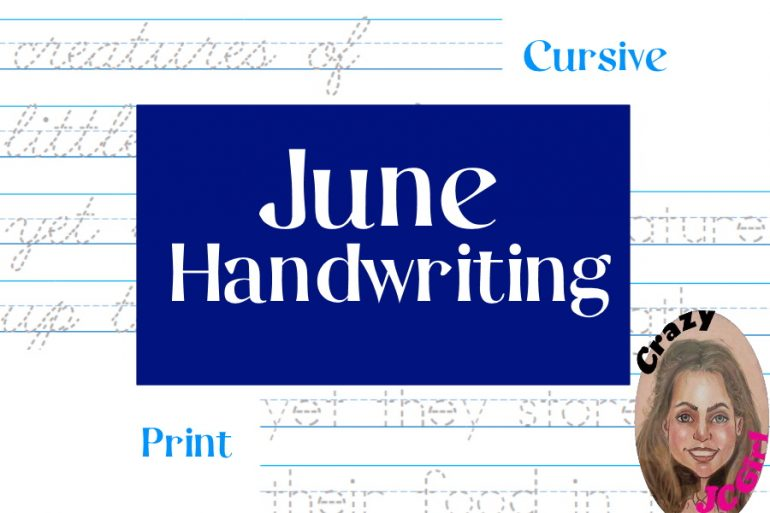 June Handwriting - crazyJCgirl.com