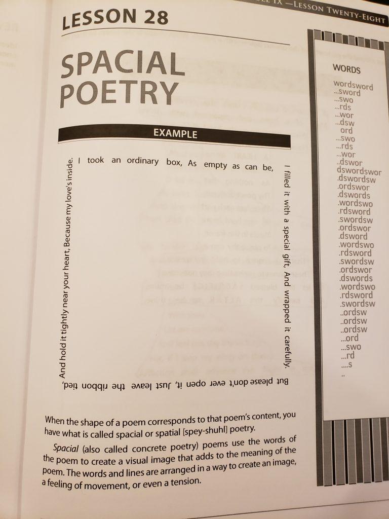 Grammar of Poetry - sample pg 145 - crazyJCgirl.com