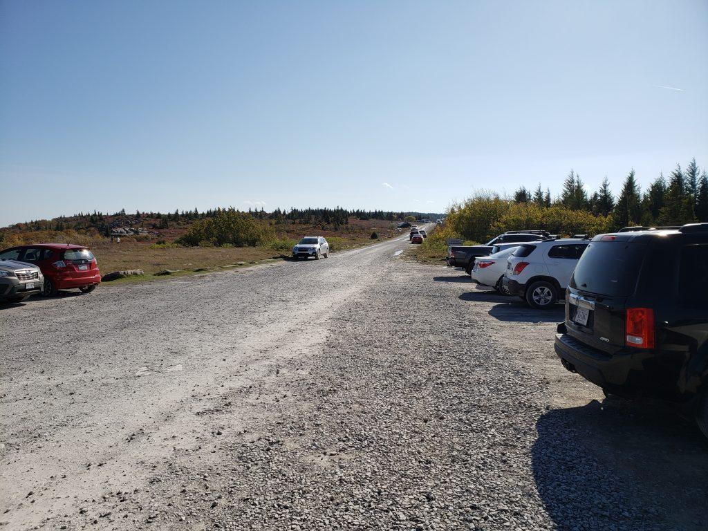 Parking, Bear Rocks, Dolly Sods, WV - crazyJCgirl.com