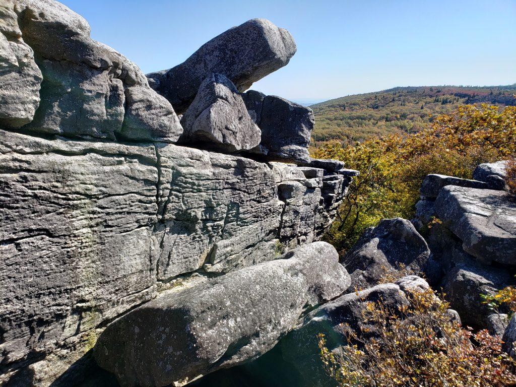 Rock Formation, Bear Rocks, Dolly Sods, WV - crazyJCgirl.com