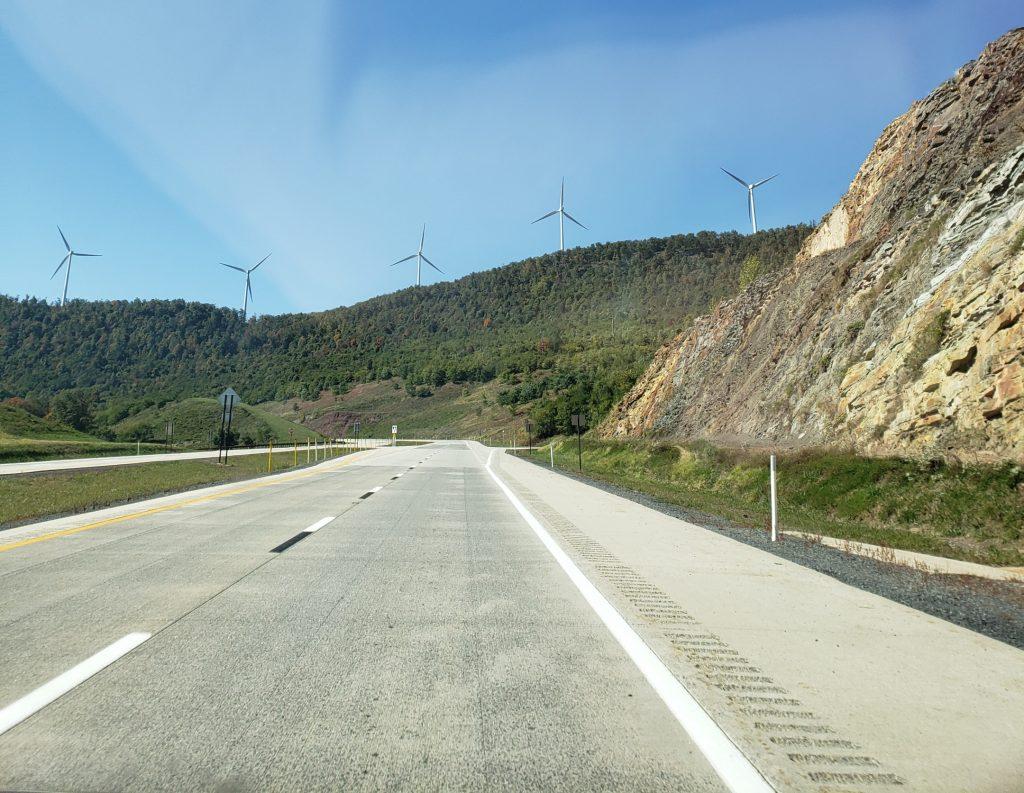 Windmills, near Mt. Storm, WV - crazyJCgirl.com