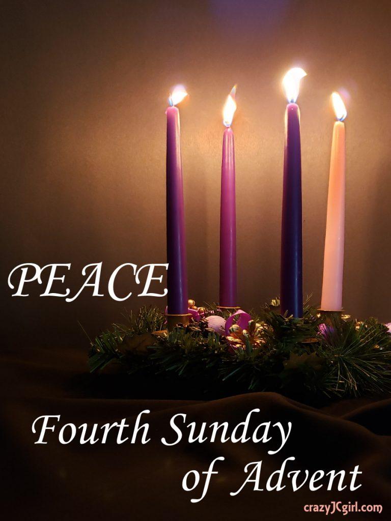 Peace: 4th Sunday of Advent - crazyJCgirl.com