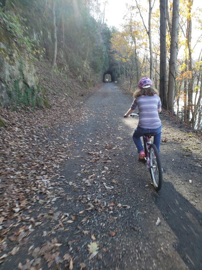 New River Trail tunnel - crazyJCgirl.com